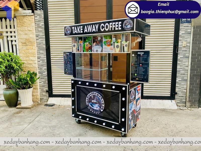 đặt làm xe bán cà phê mang đi lưu động