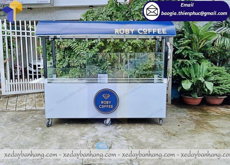 đóng tủ sắt lớn bán cafe espresso