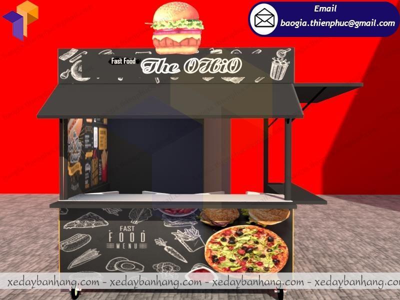kiosk bán thức ăn nhanh di động hcm