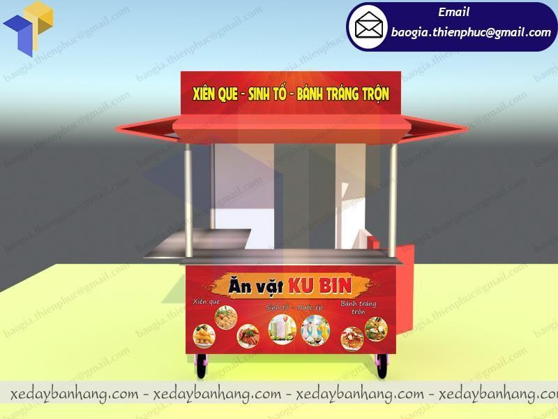 Kiot bán đồ ăn vặt  ở  hcm