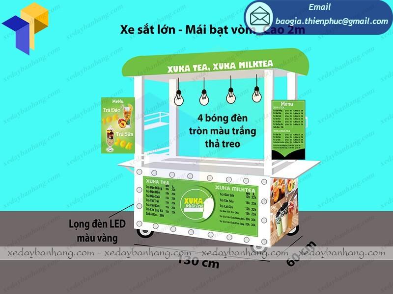 kiot bán trà sữa giá rẻ