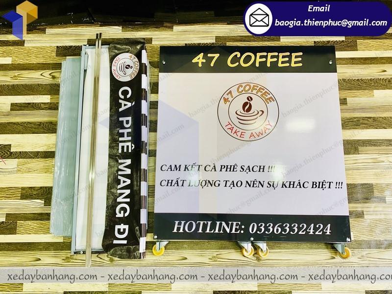 quầy lắp ráp bán cafe