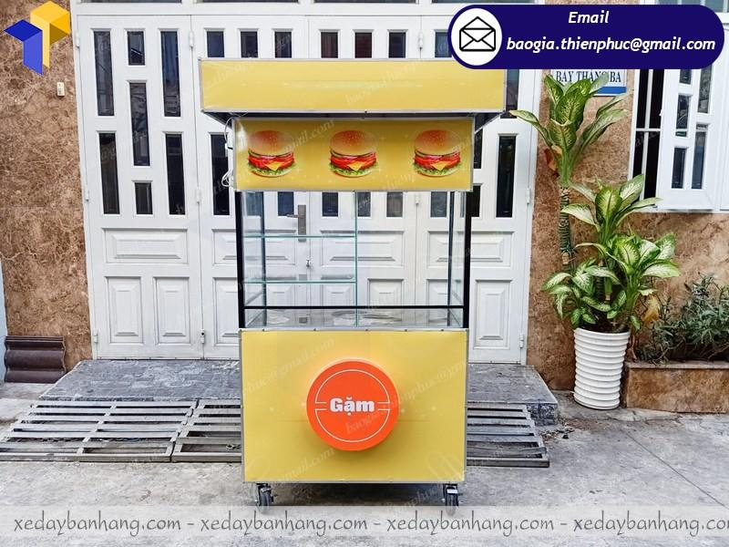 xe bán thức ăn nhanh giá rẻ