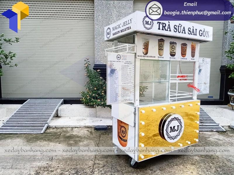 quầy bán trà sữa đẹp giá rẻ