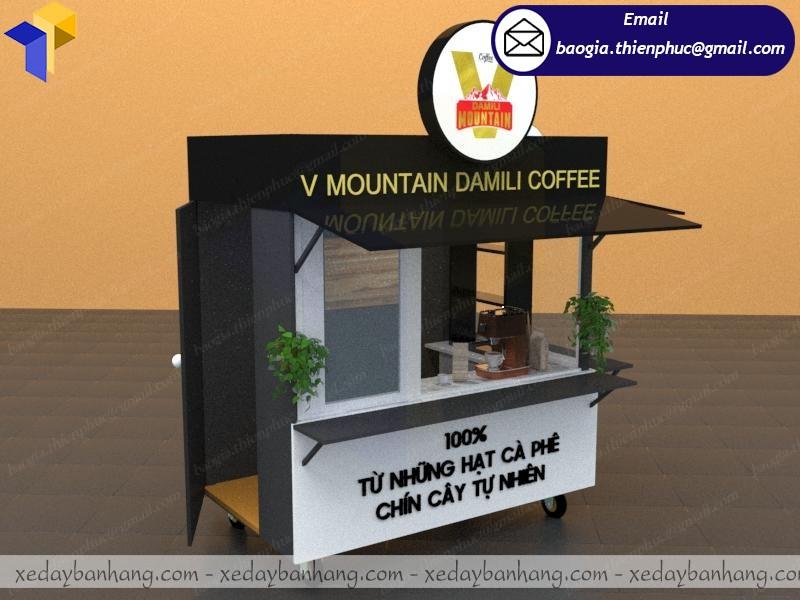 thiết kế kiot cafe ở hcm