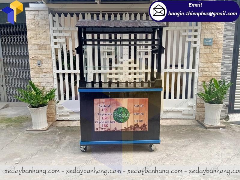 thiết kế tủ gô bán cafe