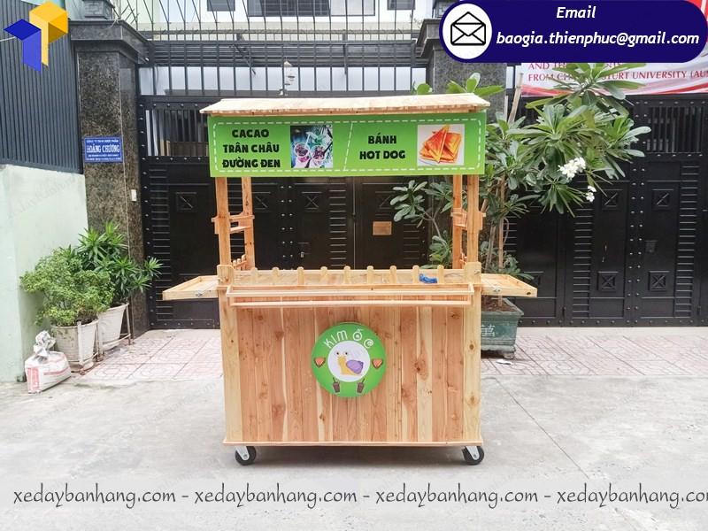 tủ bán trà sữa trân châu giá rẻ