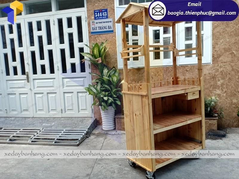 tủ gỗ bán hàng hcm