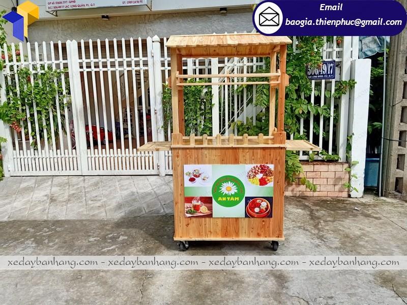 tủ gỗ bán nước sâm