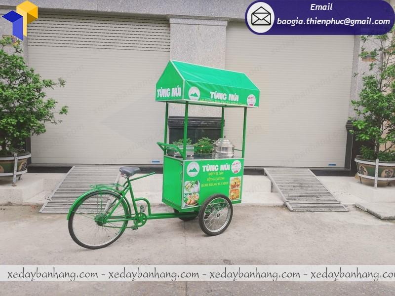 xe đạp bán đồ ăn vặt lưu động ở hcm