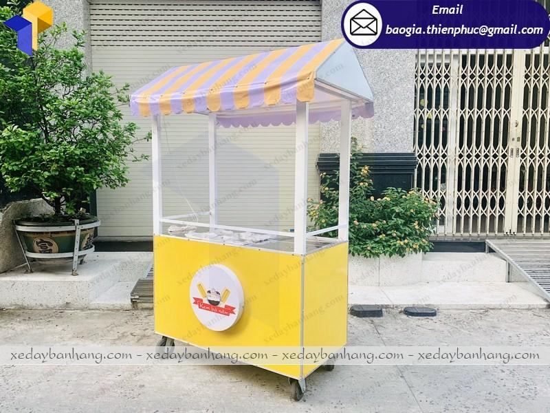 xe bán kem giá rẻ hcm