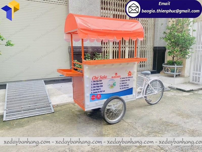 xe đạp bán chè di động ở hcm