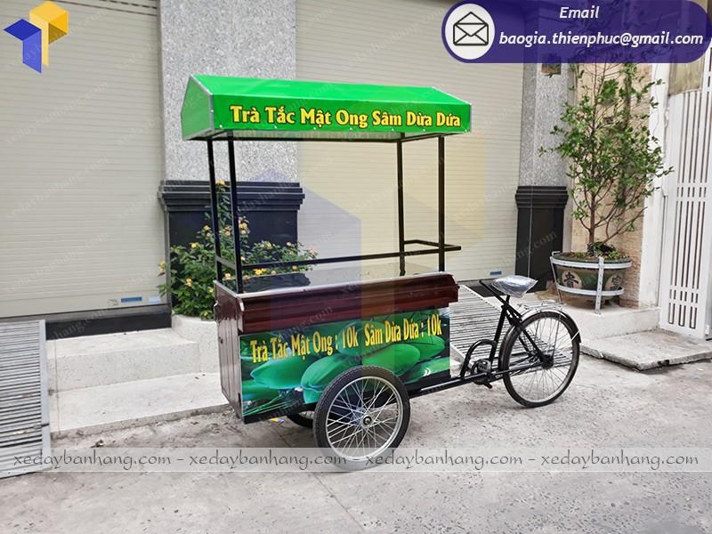 xe đạp bán dừa tắc