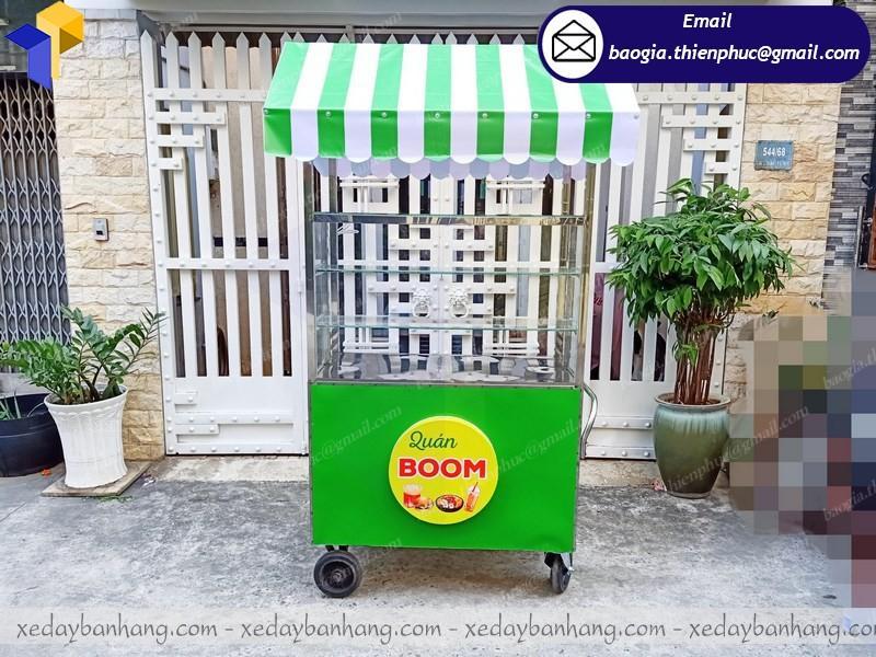 xe inox bán thức ăn nhanh
