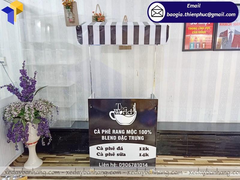 xe lắp ráp bán cafe