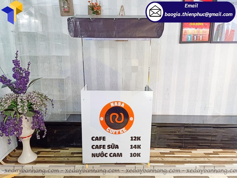 xe lắp ráp bán coffee